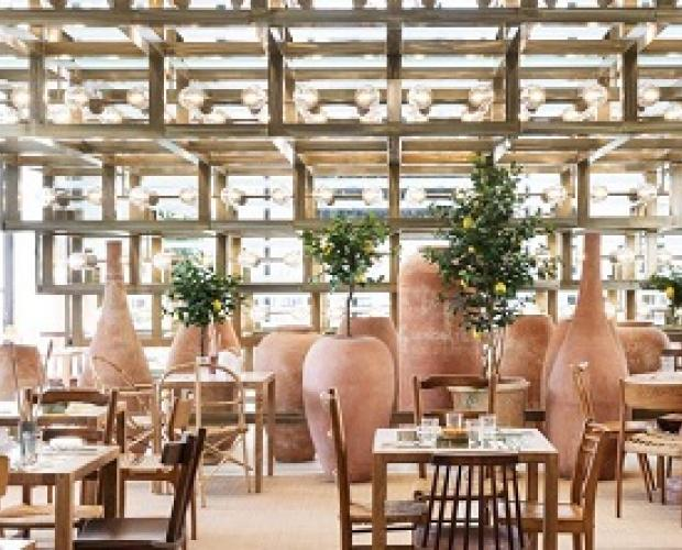 Café Citron, the restaurant designed by Jacquemus and Caviar